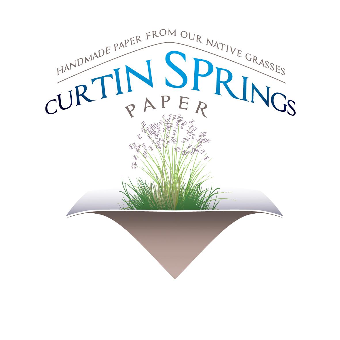 1190- Master Logo Tagline - Curtin Springs Paper - 2 - CMYK