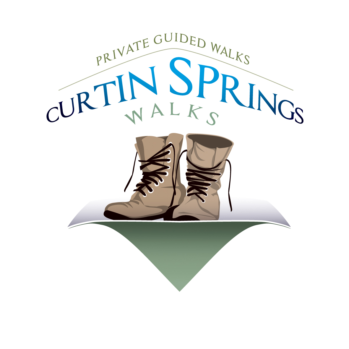 1190- Master Logo Tagline - Curtin Springs Walks - CMYK