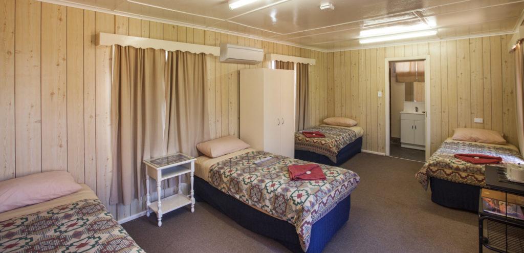 Quad Ensuite Room